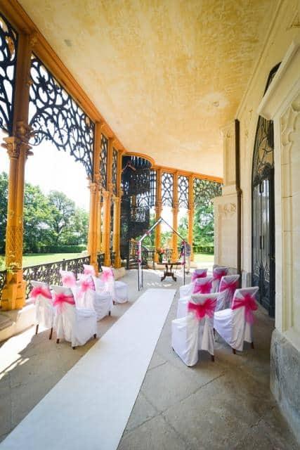 Svatba Hluboká místo pro obřad
