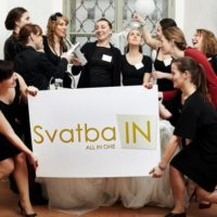 Svatba IN pracovní team s logem