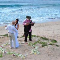 Svatba na Havaji novomanženský tanec