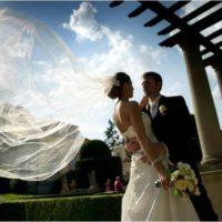 Svatby podle vás novomanželé pod pergolou