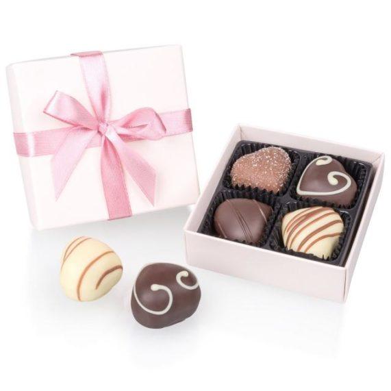 Svatební čokoládky od Chocolissimo paleta