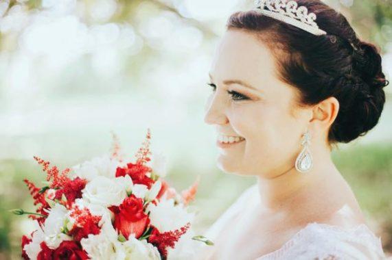 Svatební foto Martin Holík nevěsta s korunkou
