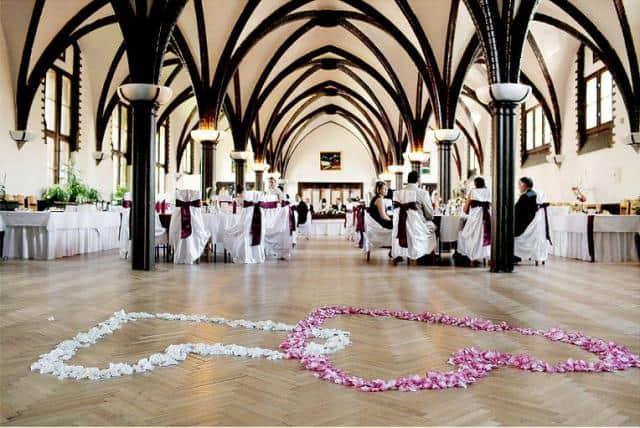 Svatební servis Glamour svatební sál