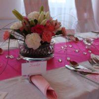 Svatební servis Glamour svatební tabule