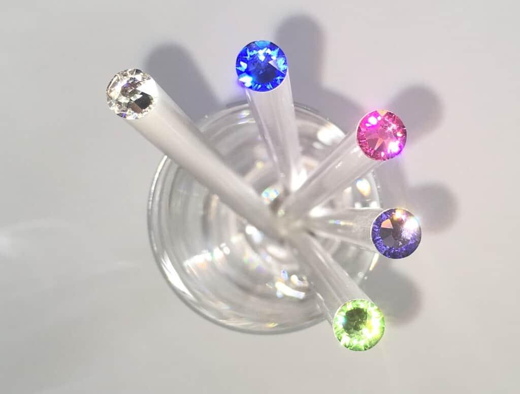 Svatební tužky s krystalem Swarovski