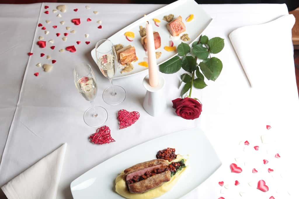 Svatební menu romantické