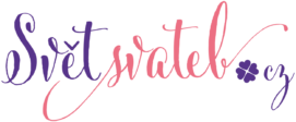 Svět svateb.cz logo barevné
