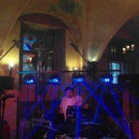 T13 Music Tomáš Jirák párty sál s modrými lasery