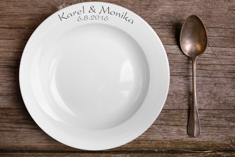 Svatební talíř