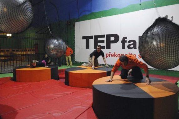 Tepfaktor hra v Tepfaktoru