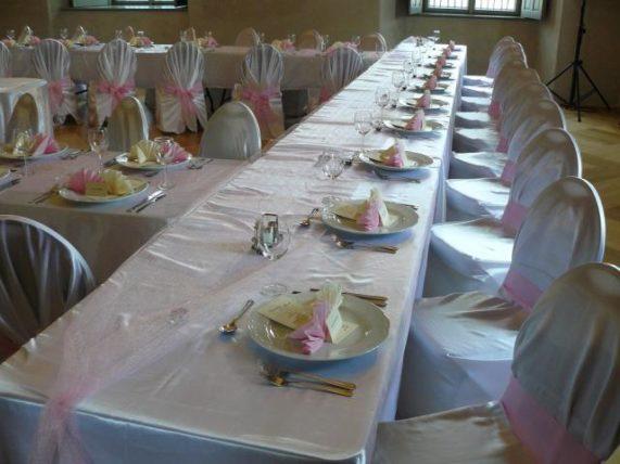 Vila U Varhanáře svatební tabule