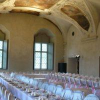 Vila U Varhanáře svatební tabule interiér