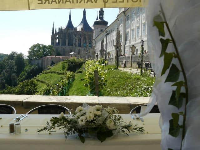Vila U Varhanáře tabule a výhled