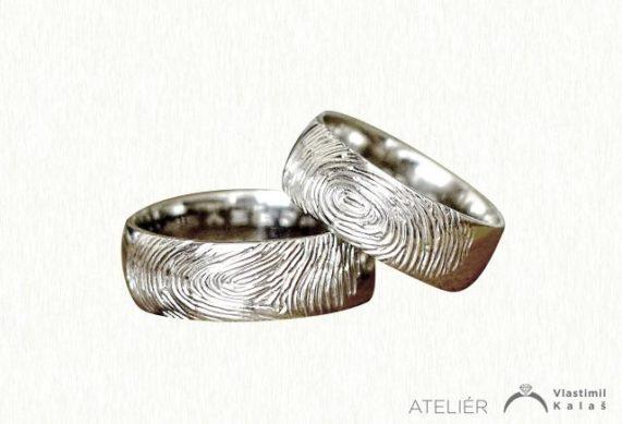 Vlastimil Kalaš prsteny otisky prstů