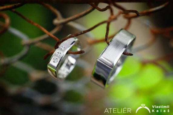 Vlastimil Kalaš prsteny stříbrné