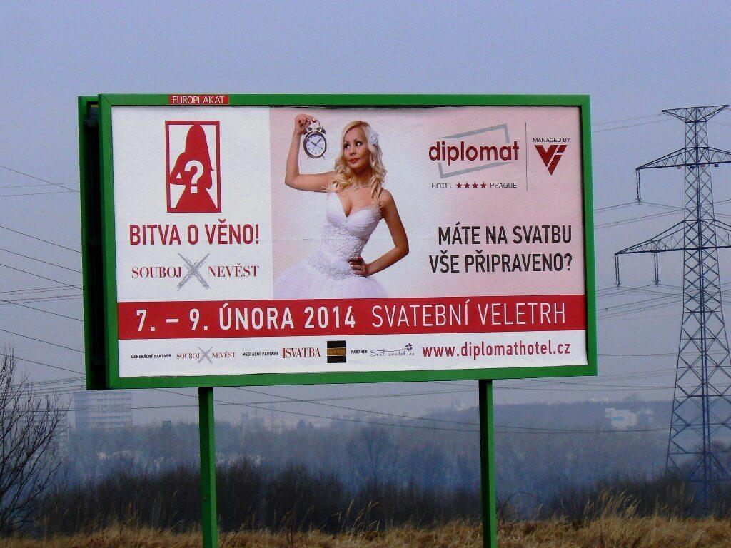 Svatební veletrh billboard