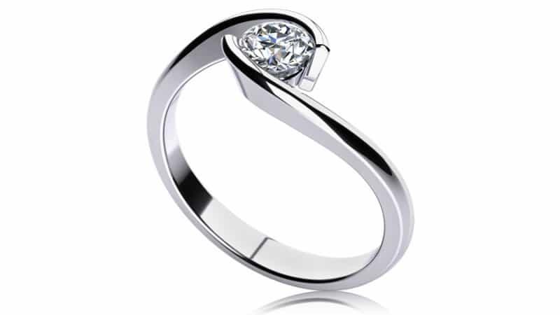 Zásnubní prsten roku 2013 - Bisaku