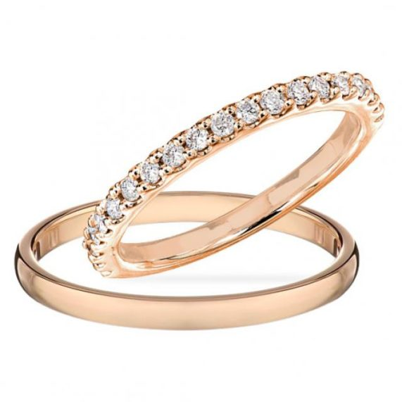 klenotnictví Klenota prsteny růžové zlato
