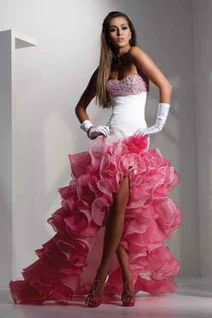 salon Bliss šaty s mořskou řasou 3