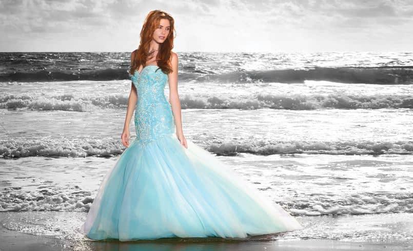 Svatební šaty podle Ariel