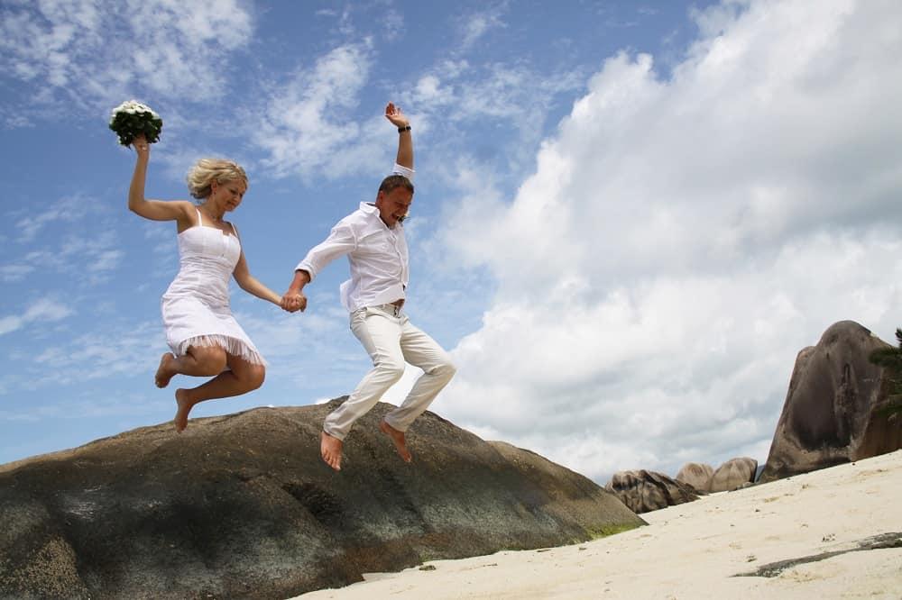Deluxea skok do manželství