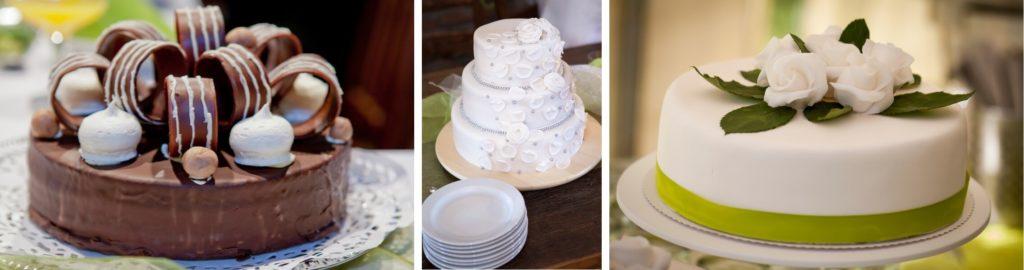Svatební dekorace na dort