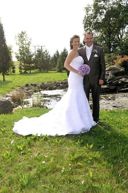 Frankův dvůr - novomanželské foto