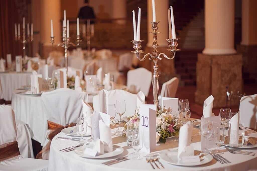 Grandhotel PUPP - svatební tabule