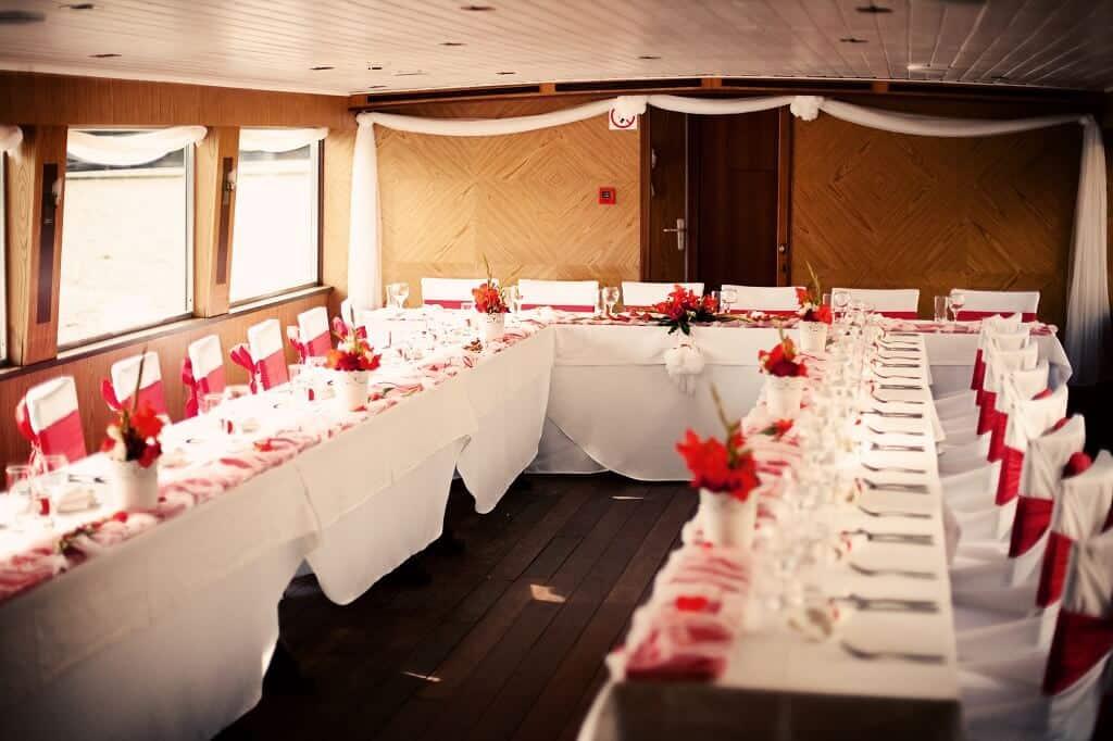 Svatba na lodi Hamburg