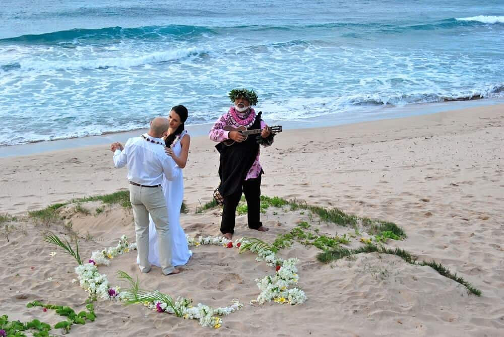Svatba na Havaji