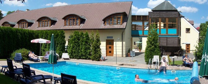 Hotel Baroko - bazén