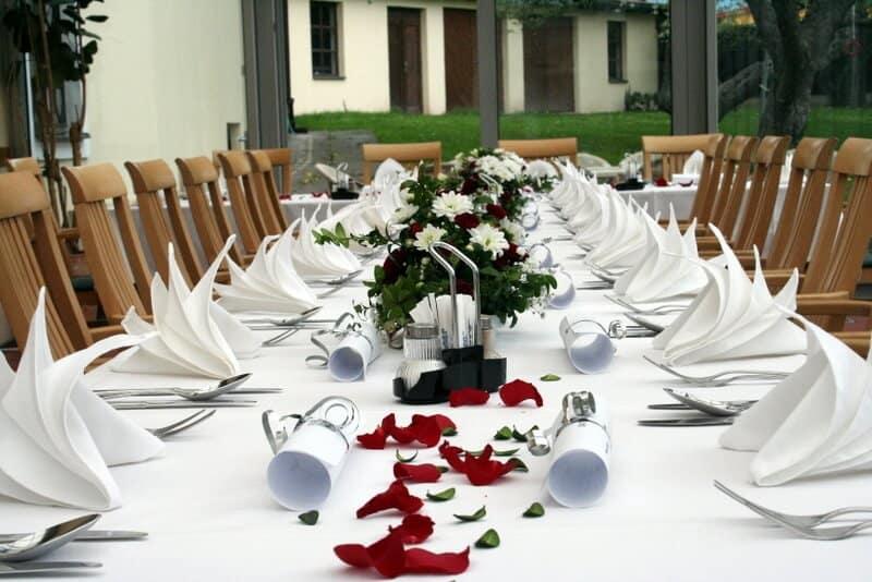 Hotel Baroko - svatební tabule