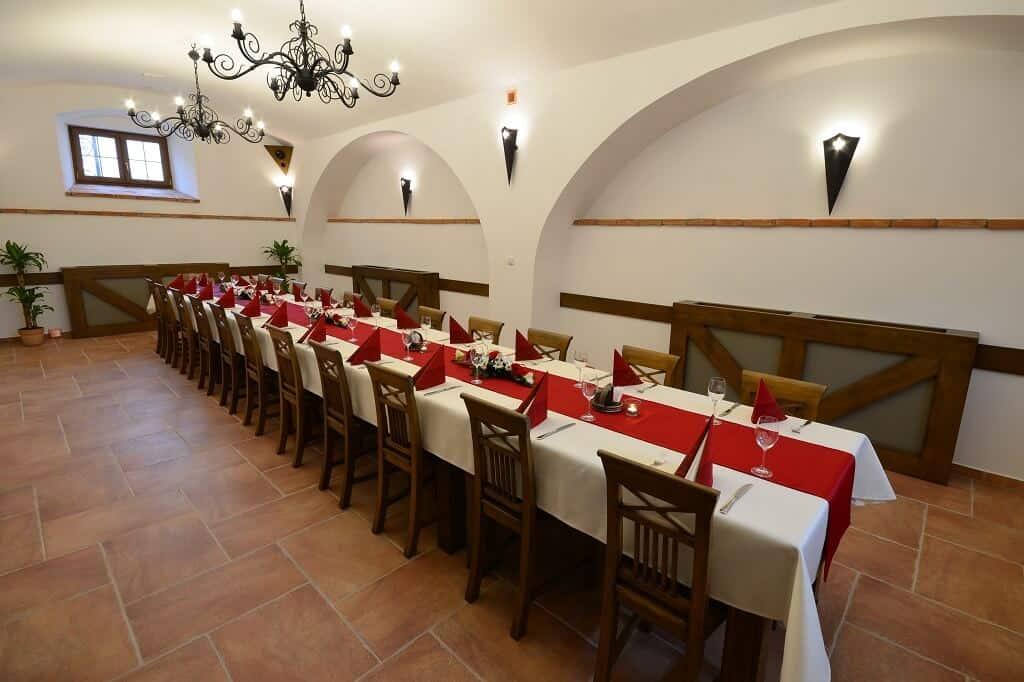 Hotel Malý Pivovar - hostina