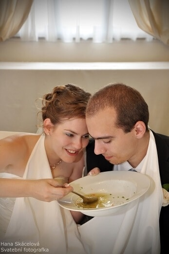 Hotel Svornost - polévka