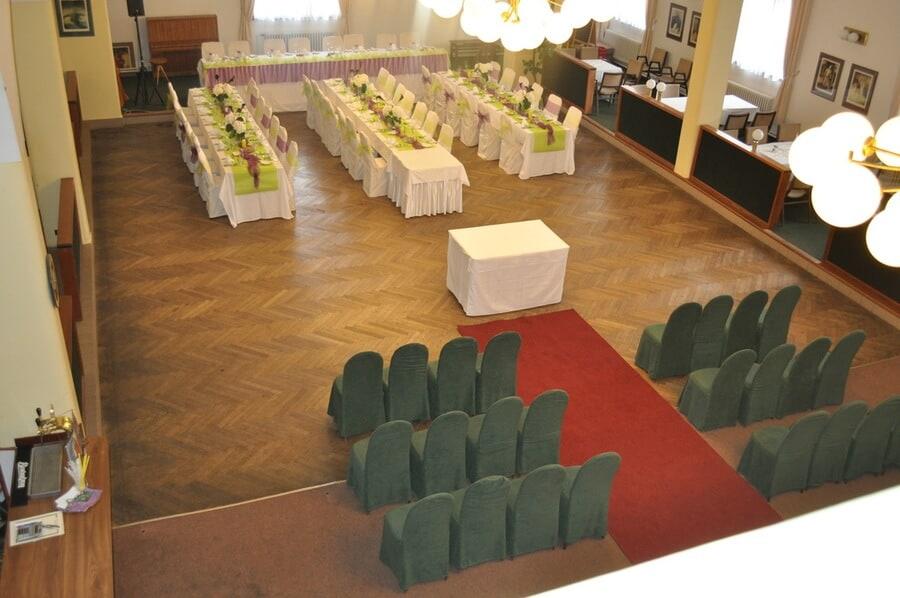 Hotel Svornost - svatební hostina