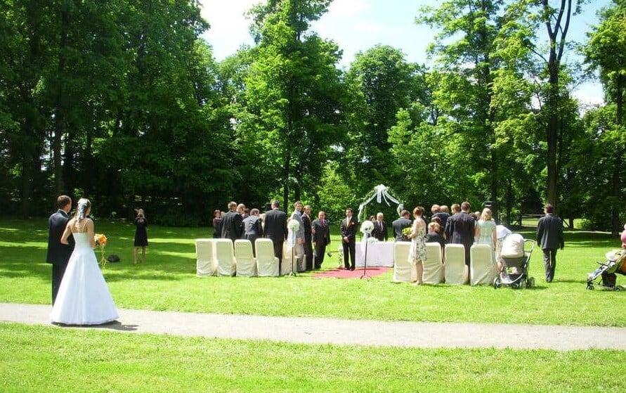 Hotel Svornost - svatební obřad