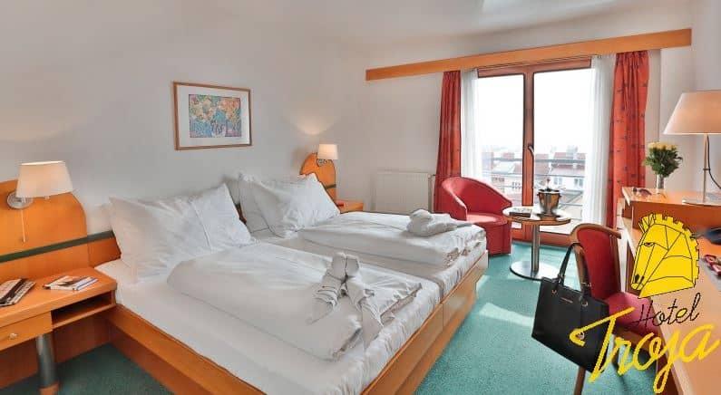 Hotel Troja - pokoje