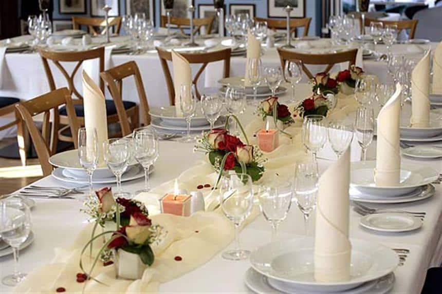 Hotel Troja - svatební tabule