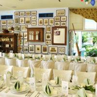 Hotel Troja - tabule v restauraci