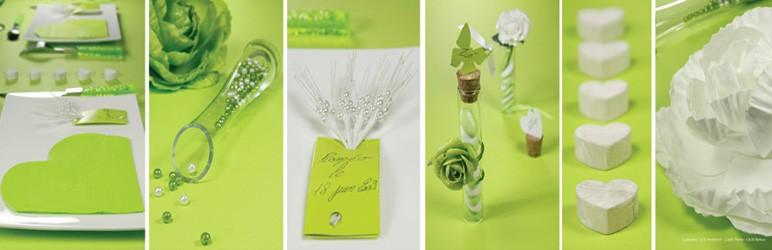 Jarní svatební dekorace
