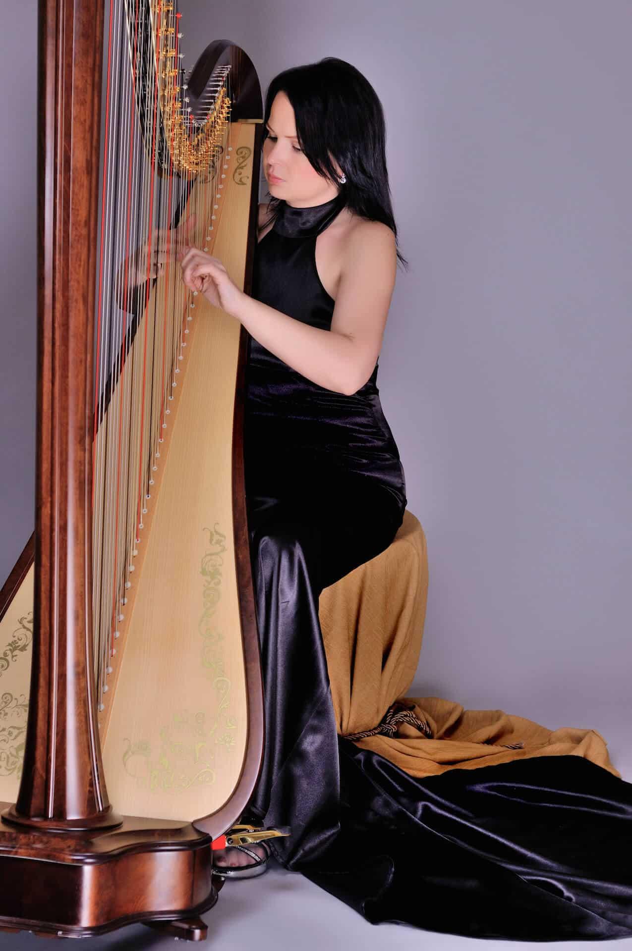 Harfistka Katarína Ševčíková 4