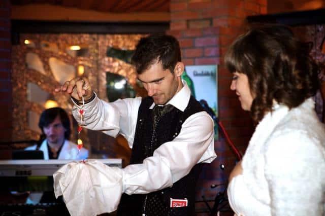 Kouzelník Martin produkce na svatbě 2