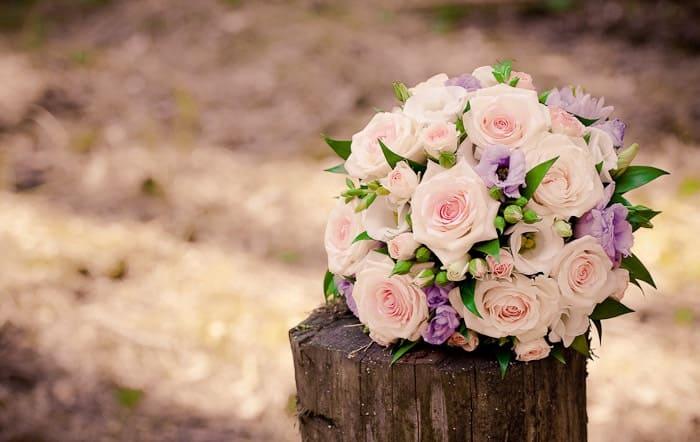 Svatební kytice Růže