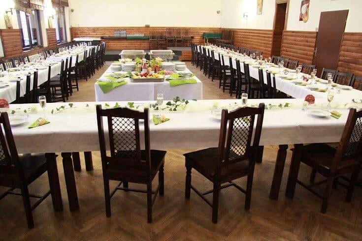Restaurace Na Statku Jevany svatební tabule