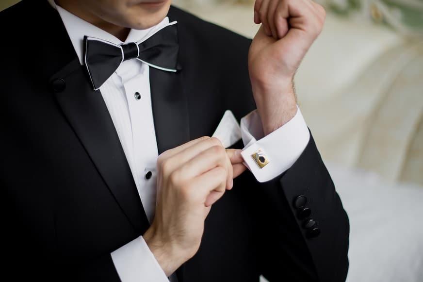 Luxusní svatební oblek