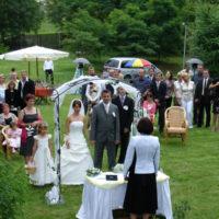 Svatební obřad Hliněná bašta