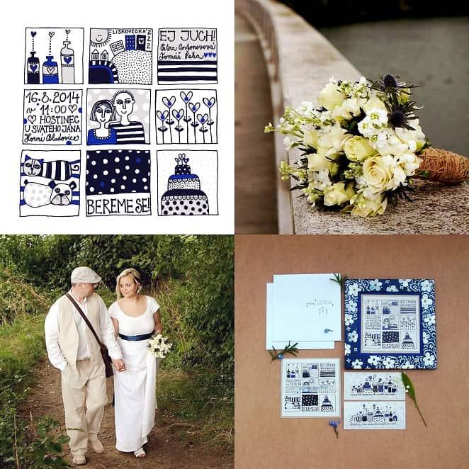 Svatební oznámení Oringle
