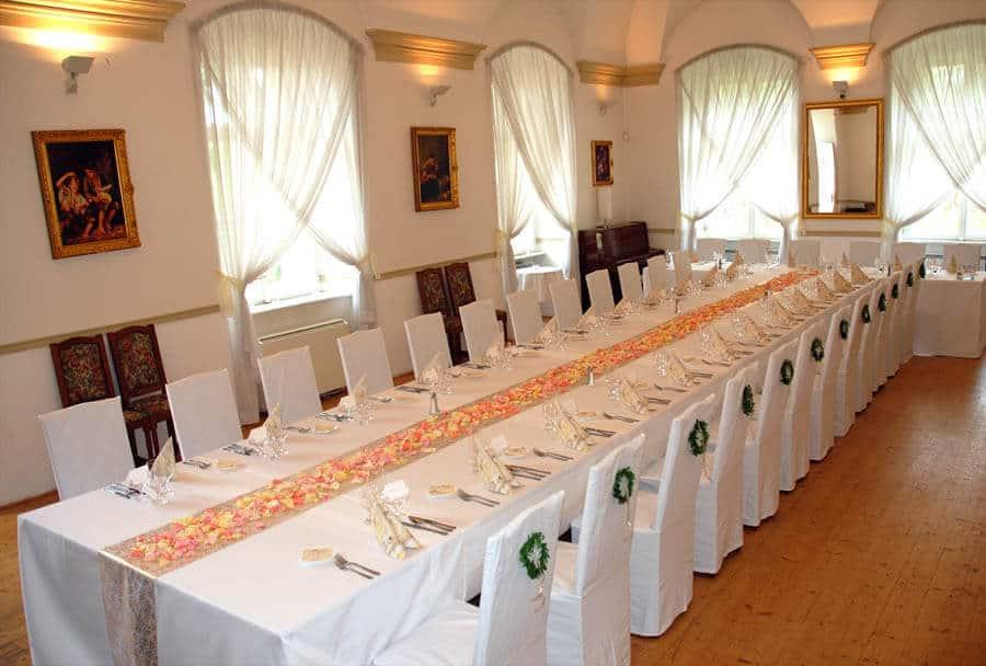 Petřínské terasy - svatební hostina