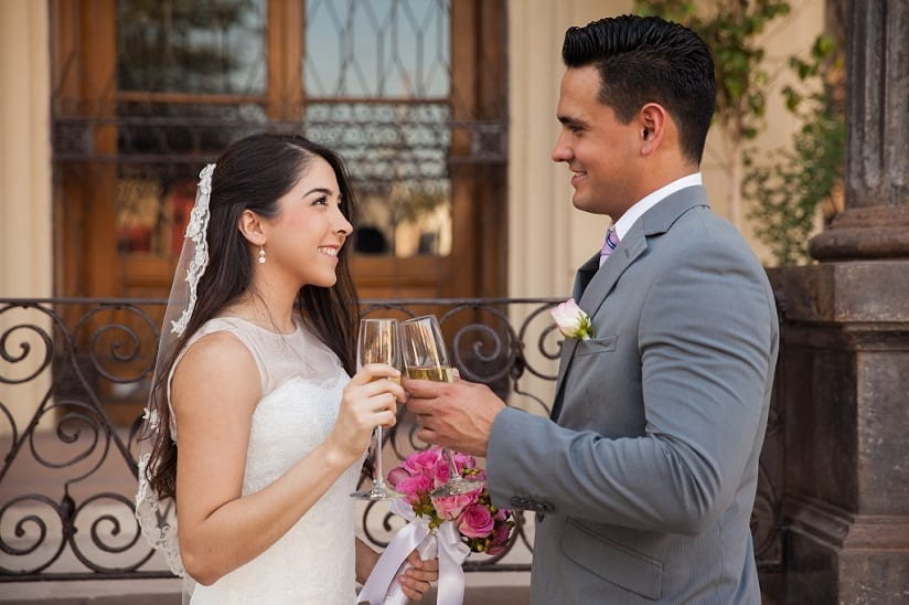 Svatební přípitek