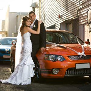 Auto pro ženicha